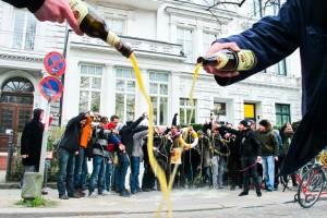 Bikeflash grüßt Bayerische Hausbau