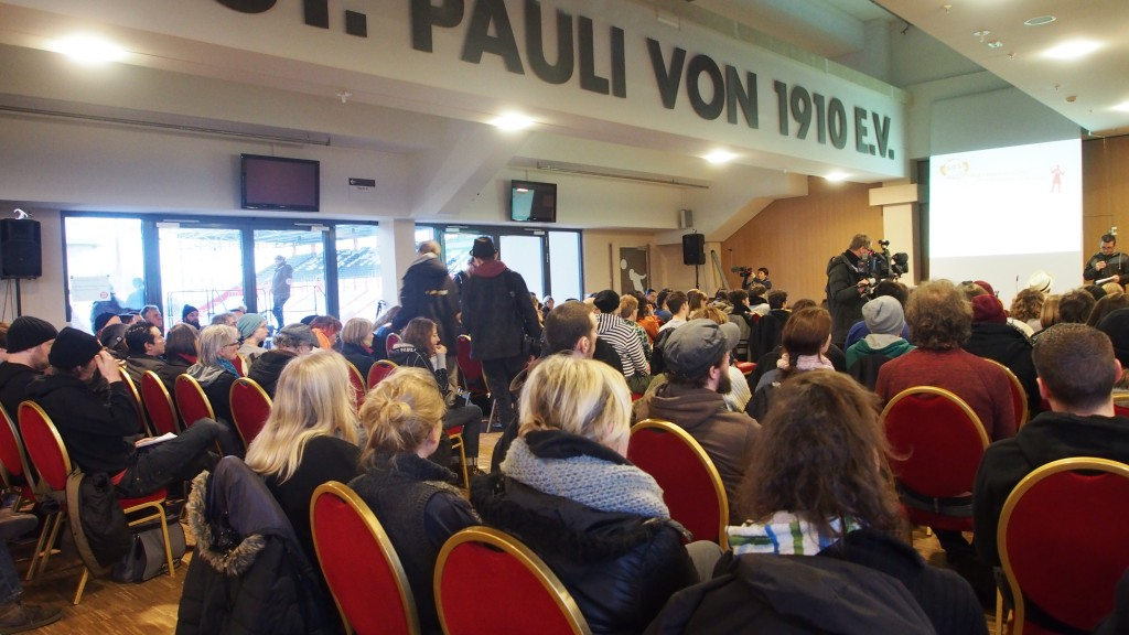 Stadtteilversammlung St. Pauli Februar 2014